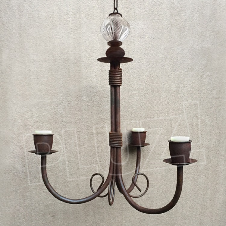 Lámpara Colgante Araña Chica 3 Luces con bo...
