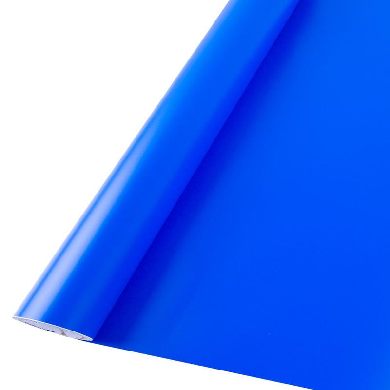 Vinil adesivo maxlux azul intenso translúcido larg. 0,61 m