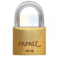 Cadeado Papaiz 20mm - CR20 - 0100200CX