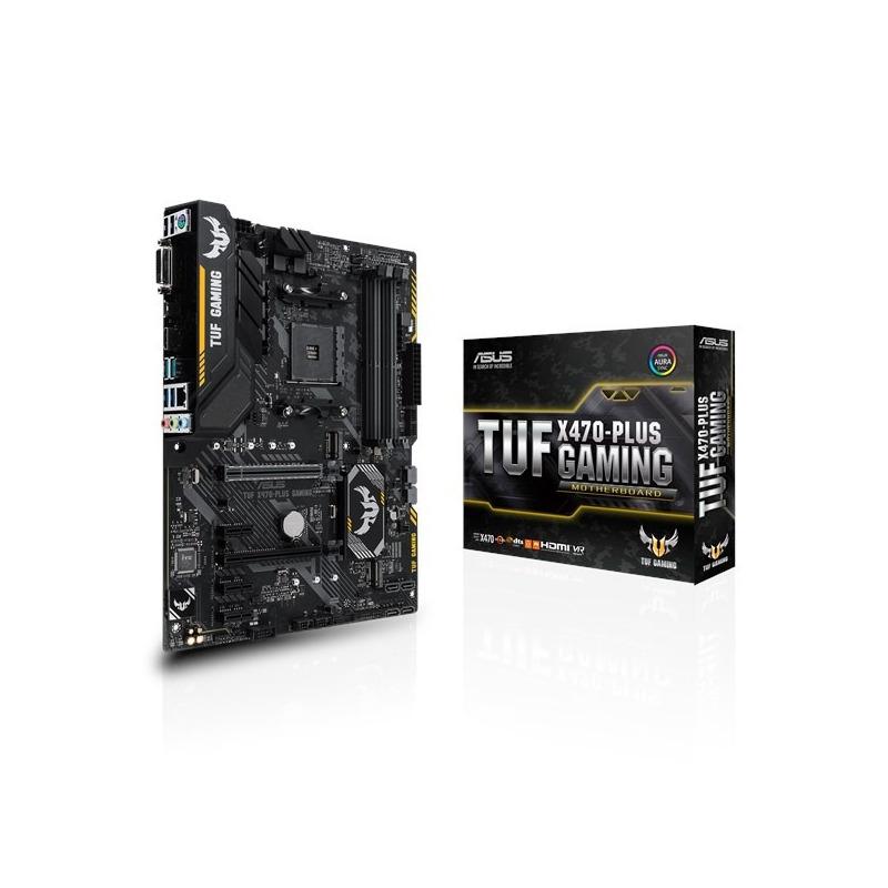 Motherboard Asus Tuf X470- Plus Gaming
