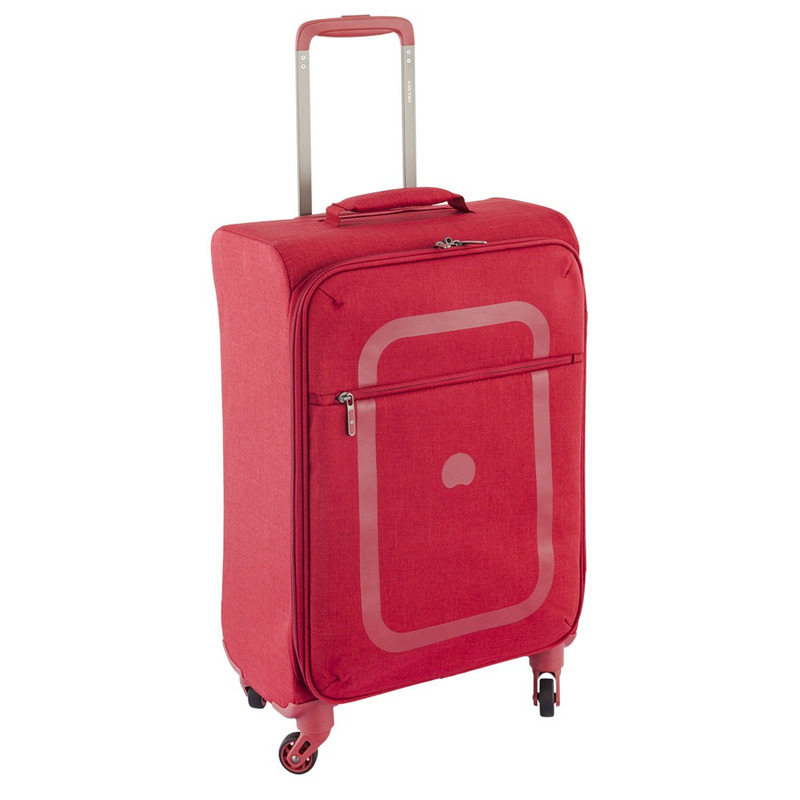Maleta Vertical 4R/77Cm Rojo Soft Dauphine