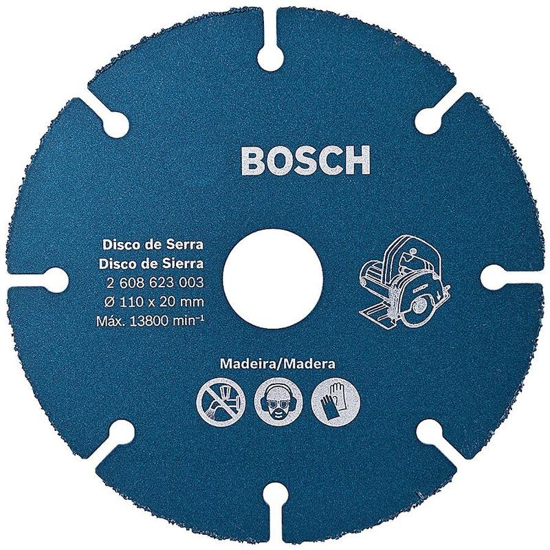 Disco de Serra Mármore para Madeira 110mm Bosch