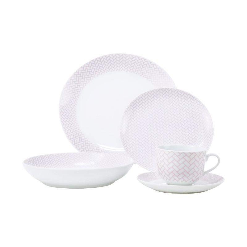 Vajilla de Porcelana 20 pz Timor 9580125