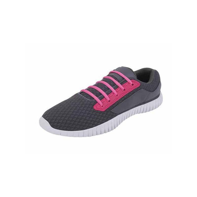 Deportivos grises con rosa 017492