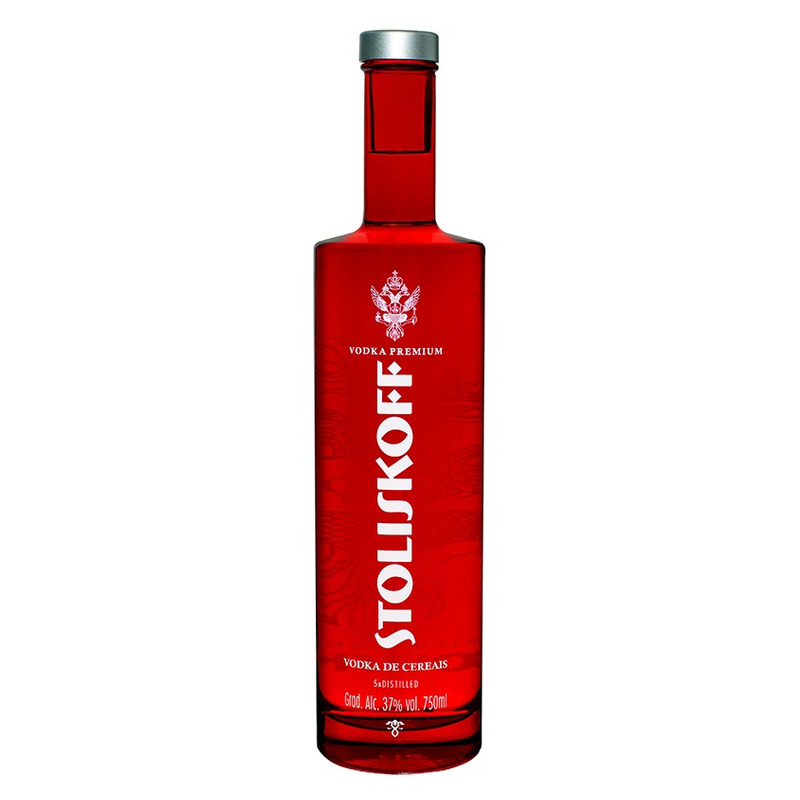 Vodka Premium de Cereais 750ml - Stoliskoff