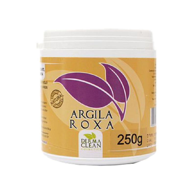 Argila Roxa em po - 250g - Dermaclean