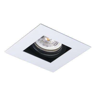 Spot Embutir Antideslumbrante Gu10 Led 7w Blanco Luz Desing