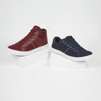 Combo sneakers azul y tinto 018747