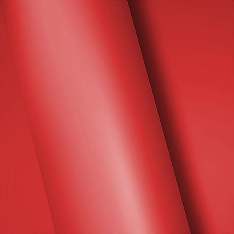 Adesivo para envelopamento fosco vermelho larg. 1,38 m