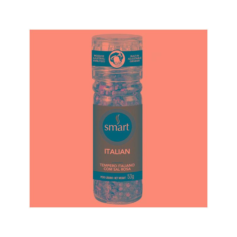 Mix de Temperos Italianos com Moedor - 53g - Smart