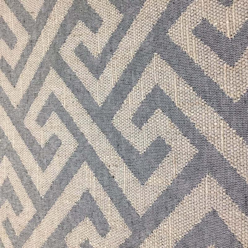Tecido para estofado linho labirinto rústico  Linen 13