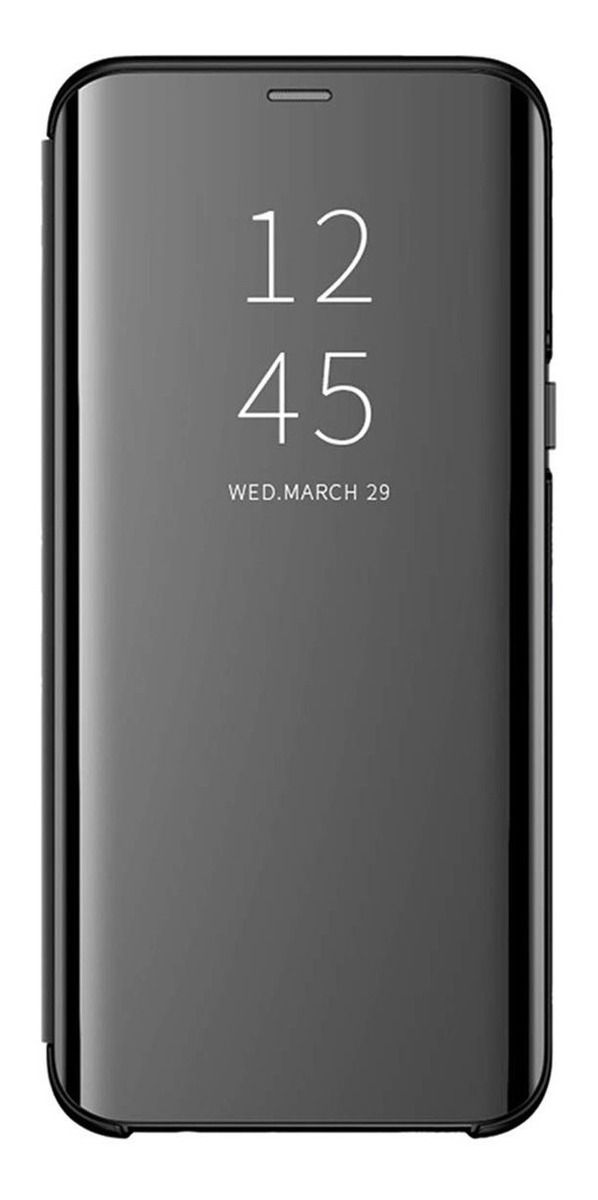 FLIP CLEAR VIEW STANDING A8 PLUS 2018 NEGRO
