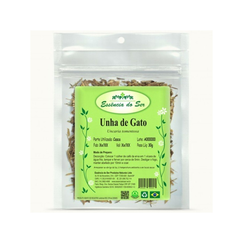 Cha de Unha de Gato - Kit 2 x 30g - Essencia do Ser