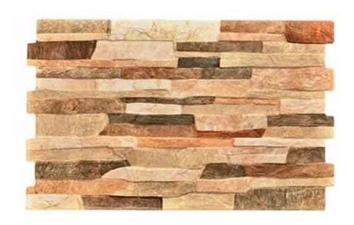 Ceramico 34x50 Fileto Rustico Pamesa Pared Simil Piedra