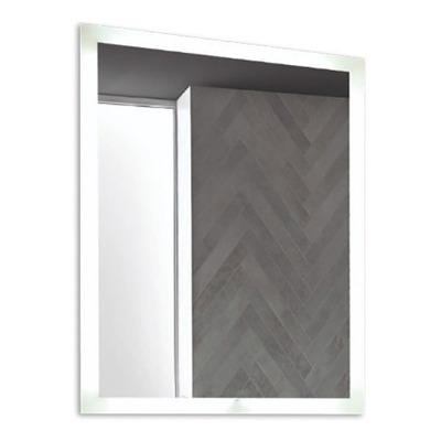 Espejo Rectangular Con Led Moderno Tactil Baño Pared N°6