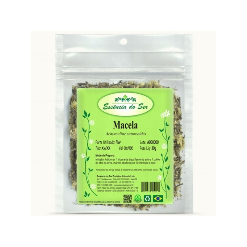 Cha de Macela do Campo - Kit 3 x 30g - Essencia do Ser