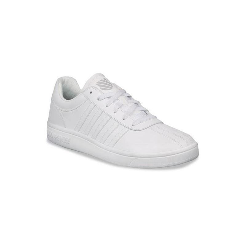 Sneakers K-Swiss blancos con costuras K05782