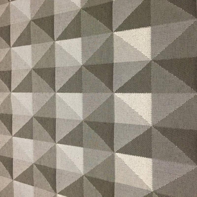 Tecido para estofado Jacquard geométrico  Linen 48