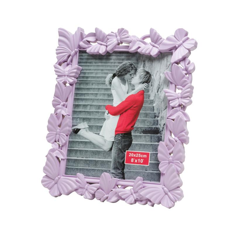 Porta Retrato De Plástico Fly Lilás 20X25Cm 4103565