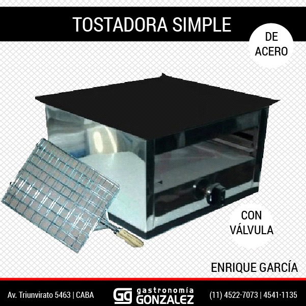 Tostador Simple Enrique Garcia