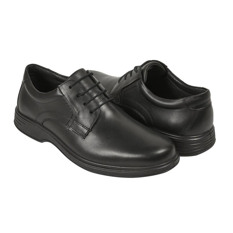Zapato vestir Flexi negro agujetas F79505