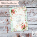 Invitación digital TD016 (Floral Fantasy)