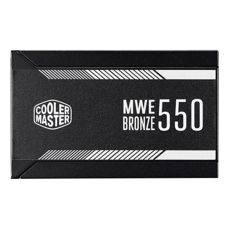 Fuente de Poder Cooler Master MWE 550 80 PLUS Bronze