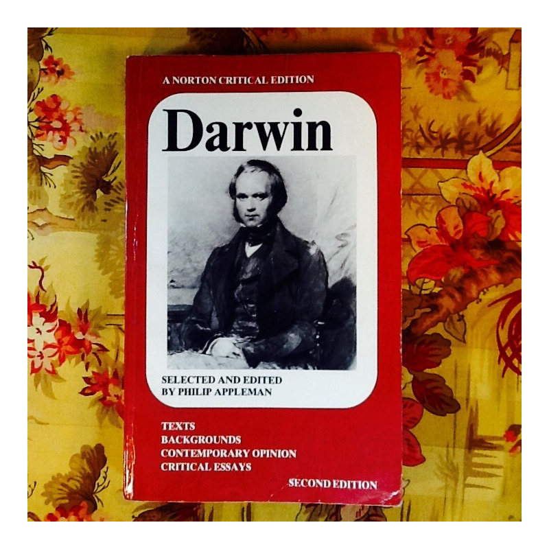Philip Appleman (editor).  DARWIN.