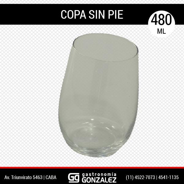 Copa sin pié 480