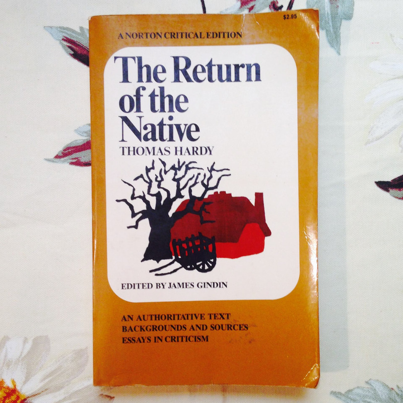 Thomas Hardy. THE RETURN OF THE NATIVE.