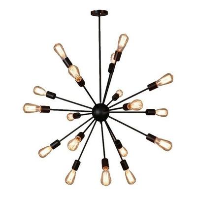Lampara Colgante Explosion Diseño Moderno 18 Luces E27