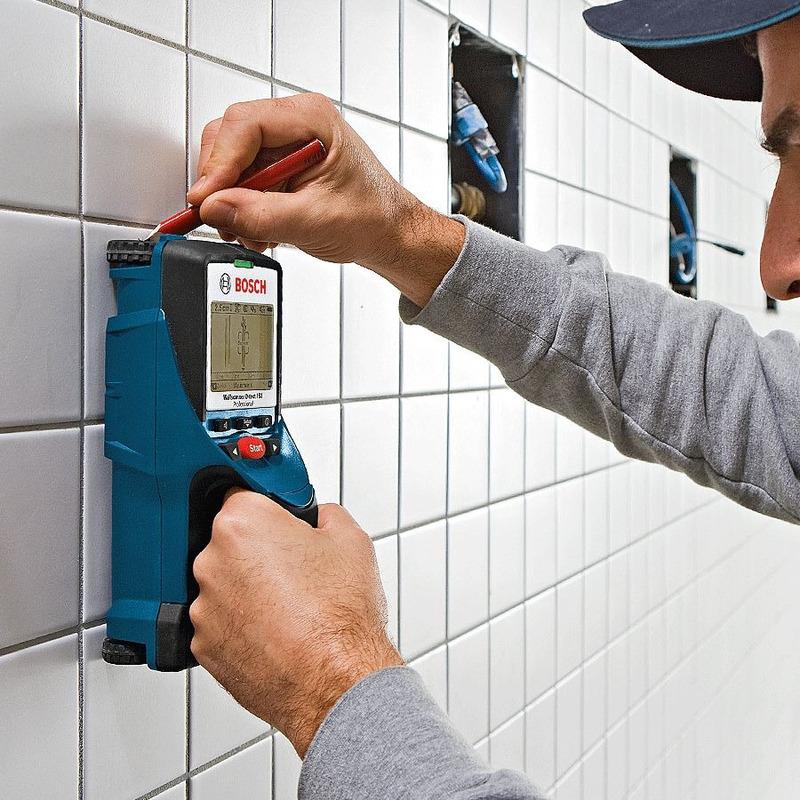 Detector de Materiais Completo - D-TECT 150 - Bosch
