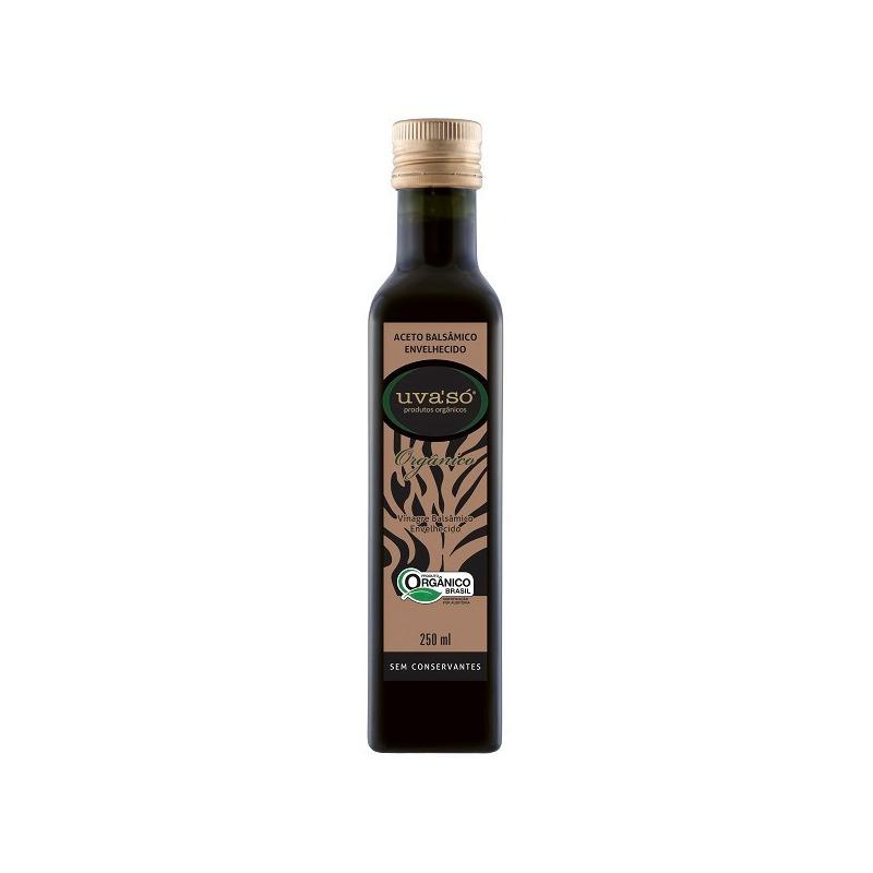 Vinagre Balsamico Envelhecido Organico - 250ml - Uva So