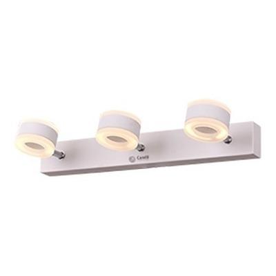 Aplique 3 Luces Led 24w Blanco Moderno Móvil Calidad Belino