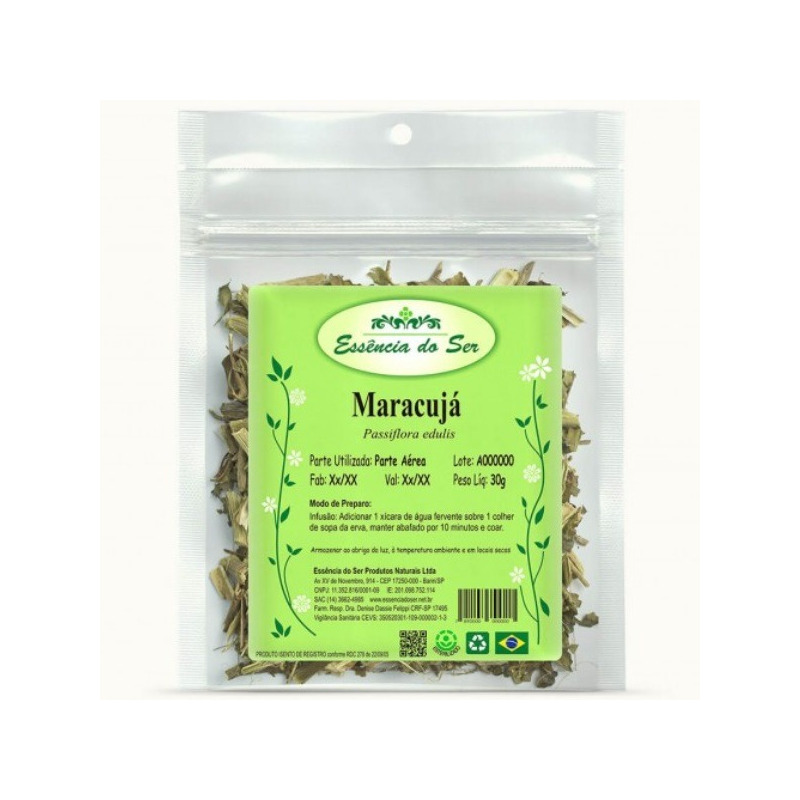 Cha de Maracuja - Kit 2 x 30g - Essencia do Ser