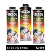 Aditivo de Aceite Bizol Corta Humo Kit 3p de 250ml