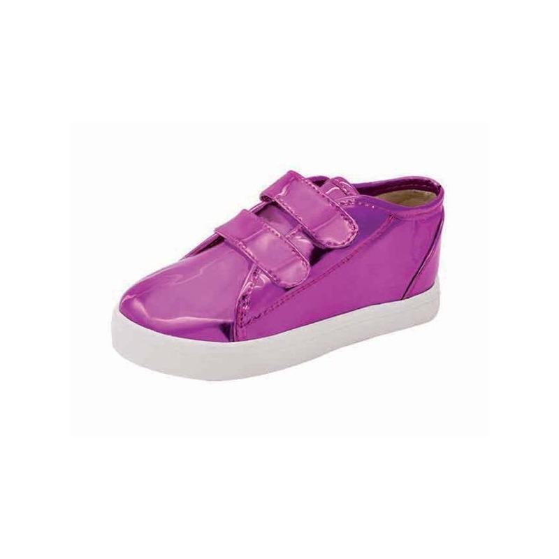 Sneakers marino estampados con rosa 018424