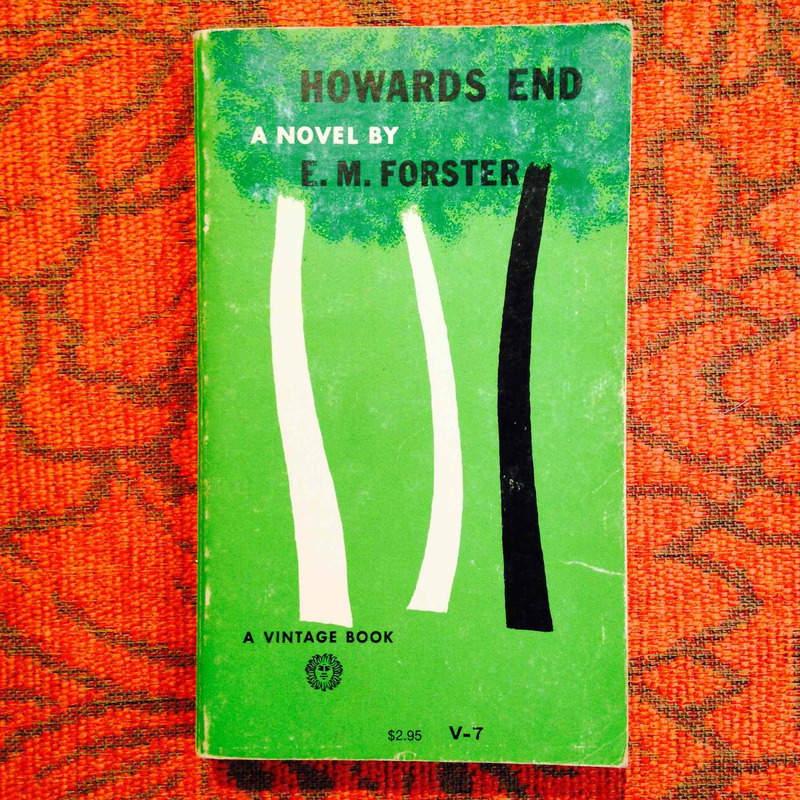 E.M. Forster.  HOWARDS END.