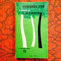 E.M. Forster.  HOWARDS END.