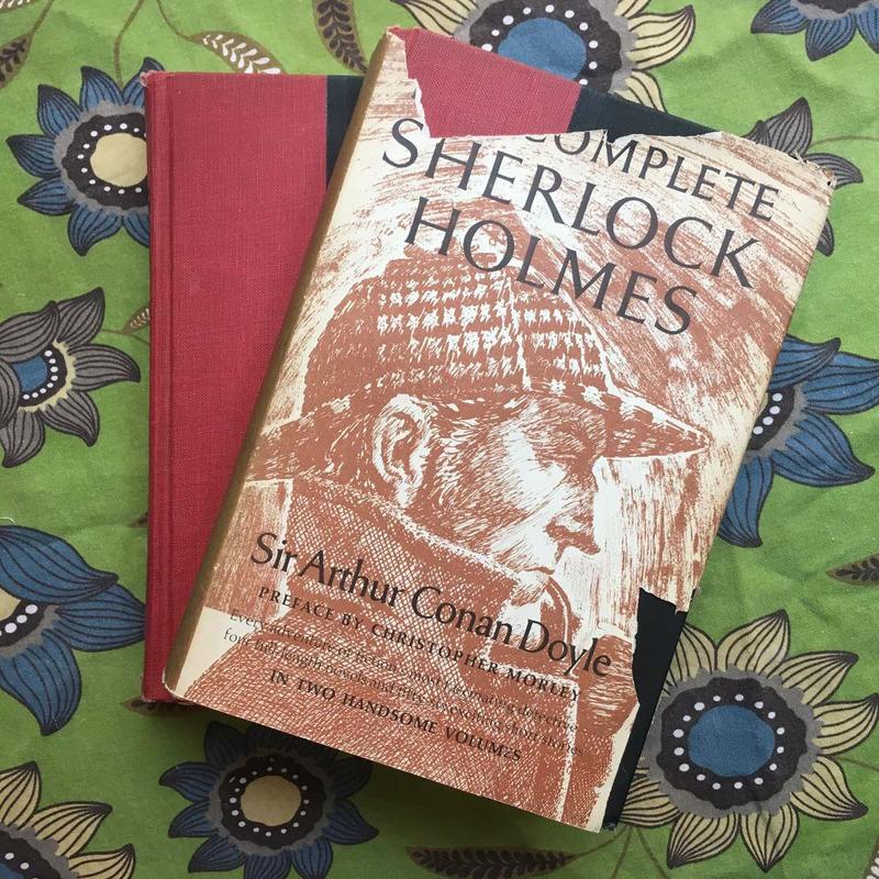 Sir Arthur Conan Doyle.  THE COMPLETE SHERLOCK HOLMES (2 volumes).