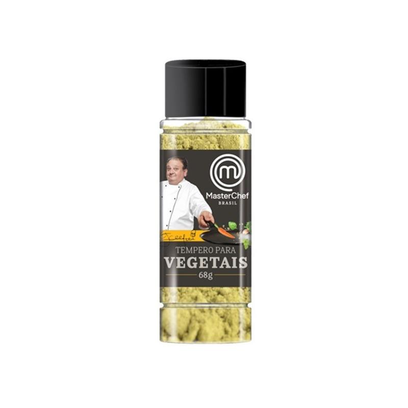 Tempero para Vegetais - 68g - MasterChef Erick Jacquin