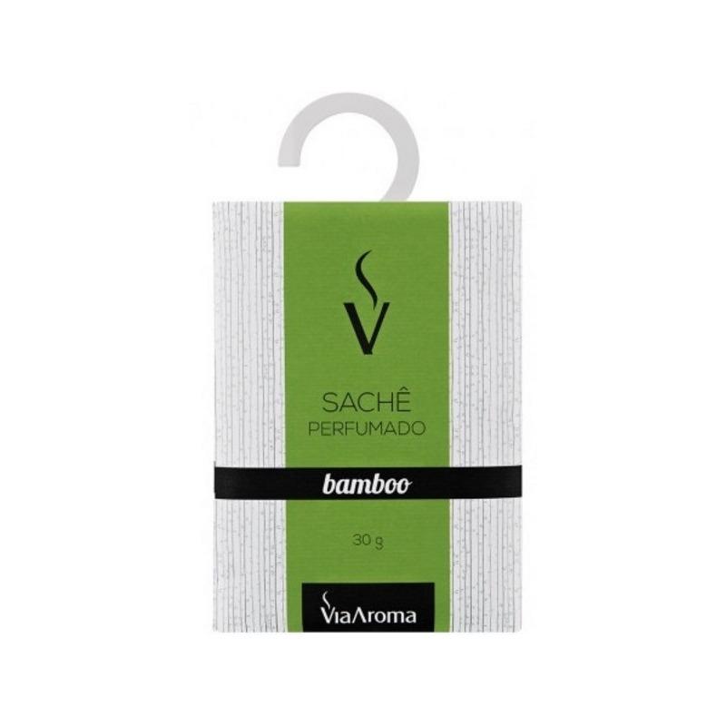 Sache Perfumado - Aroma de Bamboo - 30g - Via Aroma