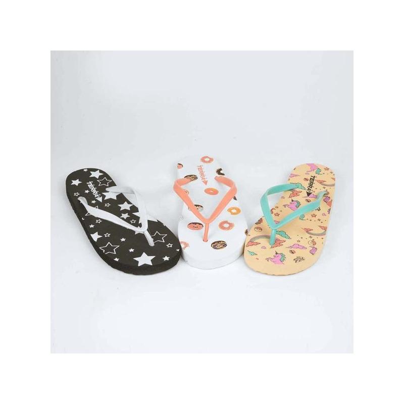 Combo sandalias multicolor 016564