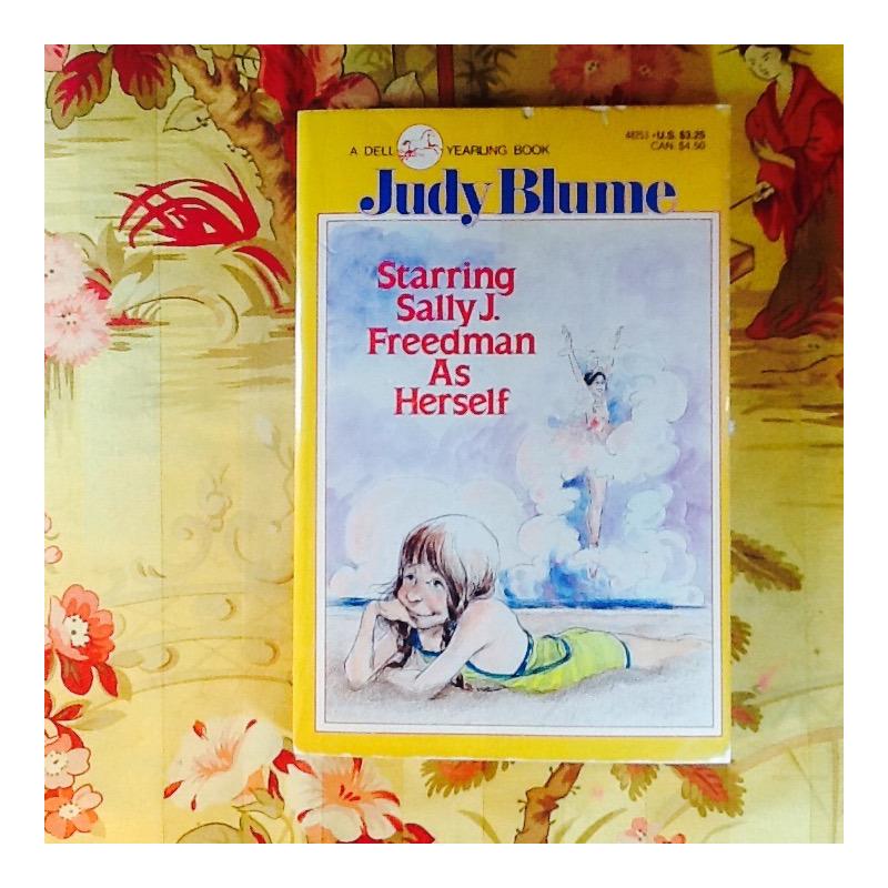 Judy Blume.  STARRING SALLY J. FREEDMAN AS HERSELF.
