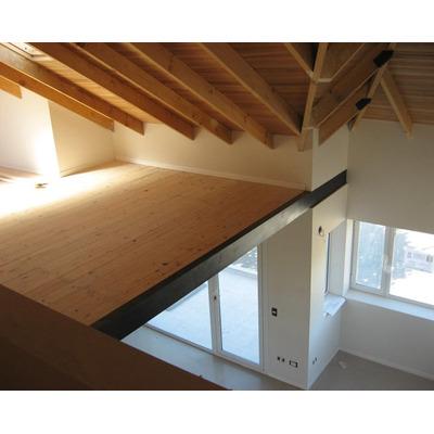 Entrepisos altillo baranda escalera herreria decks en for Escalera de madera para entrepiso