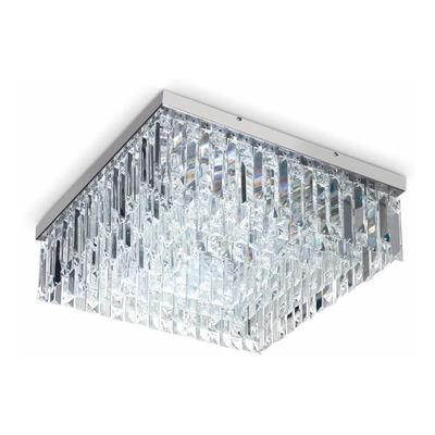 Lampara Plafon Sirius Cristal 8 Luces Con Led G627 08 Pal