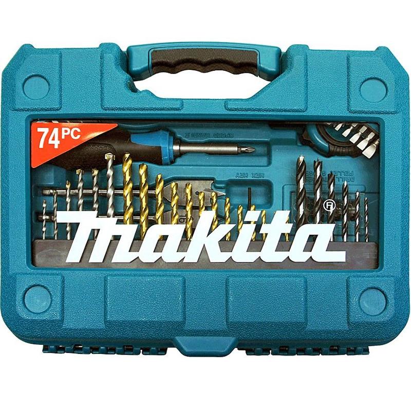 Kit de Acessórios com 74 Peças - P-90336 - Makita
