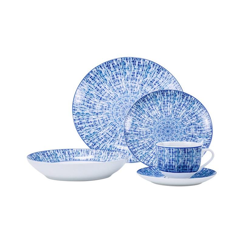 Vajilla de Porcelana 20 pz Bali 9580123