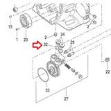 Anel Vedacao Plug Bomba Oleo Motor Harley M8 11900010