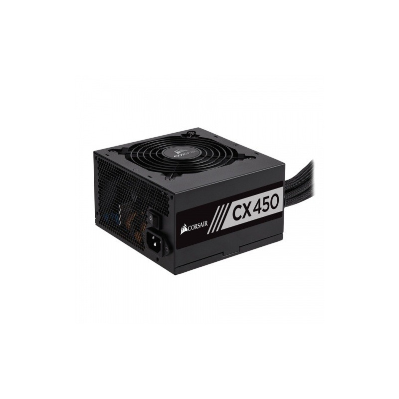 Fuente de Poder Corsair CX450 80 PLUS Bronze, 450W